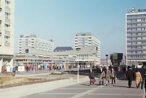 DDR: Leipzig, Sachsenplatz am 13. März 1972. Olga Bandelowa, www.bandelow.de Jede Nutzung außerhalb von Panoramio und Google Earth bedarf meiner ausdrücklichen Zustimmung. Jede anderweitige Nutzung nur gegen vereinbartes Honorar und Namensnennung. Zuwiderhandlungen werden strafrechtlich verfolgt!